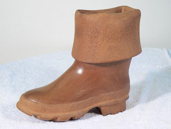 Wooden boot